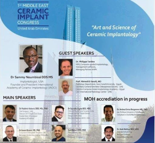 First Middle East Ceramic Implant Congress in Dubai